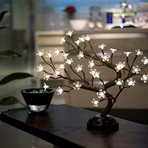 Lightshare16Inch 36LED Cherry Blossom Bonsai Light